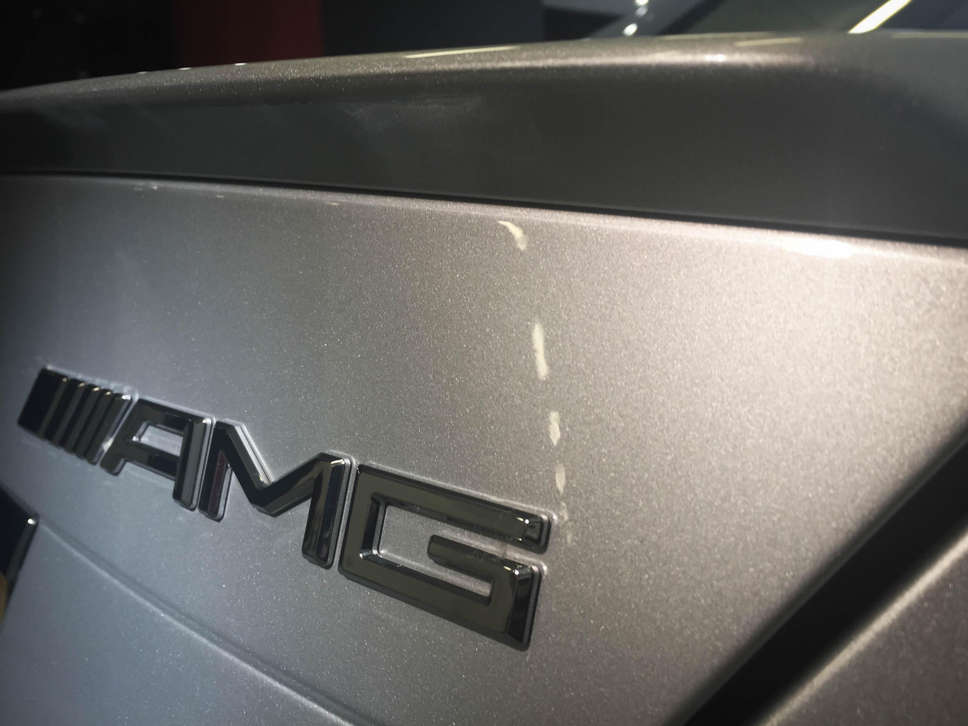 Mercedes C63 AMG –Badge