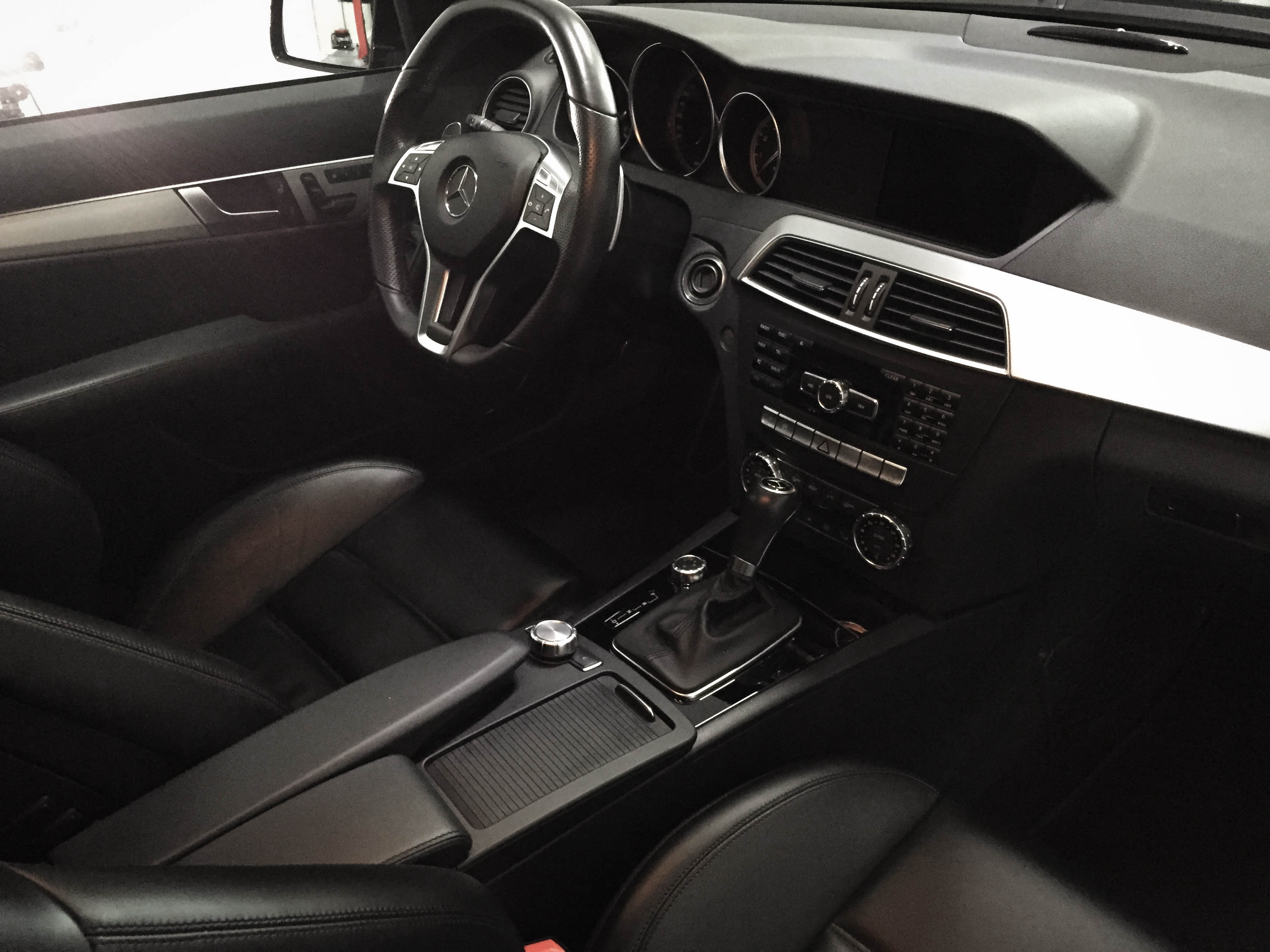 Mercedes C63 Touring –Interior