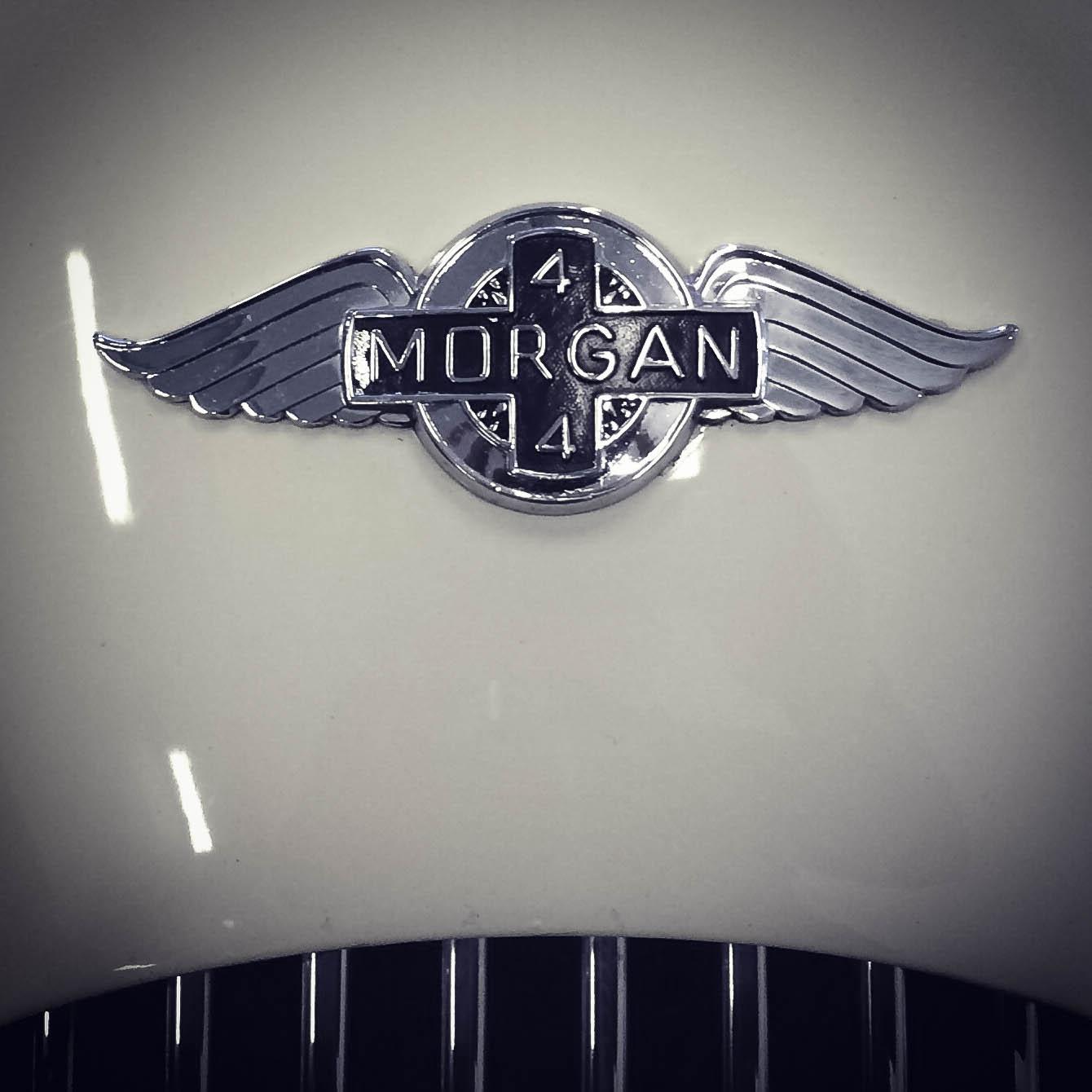 Morgan – Winged badge