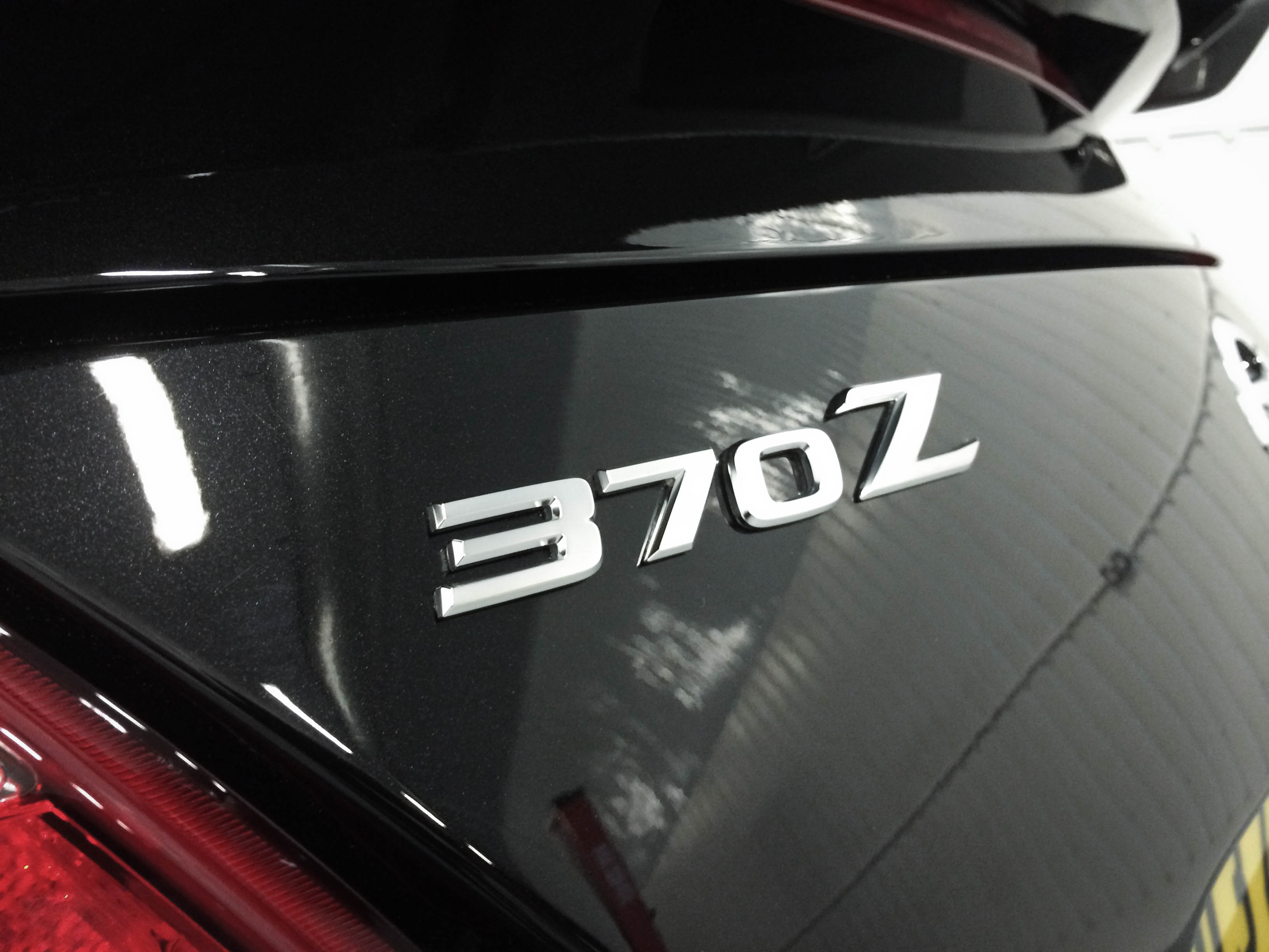 Nissan 370z Nismo –Rear badge