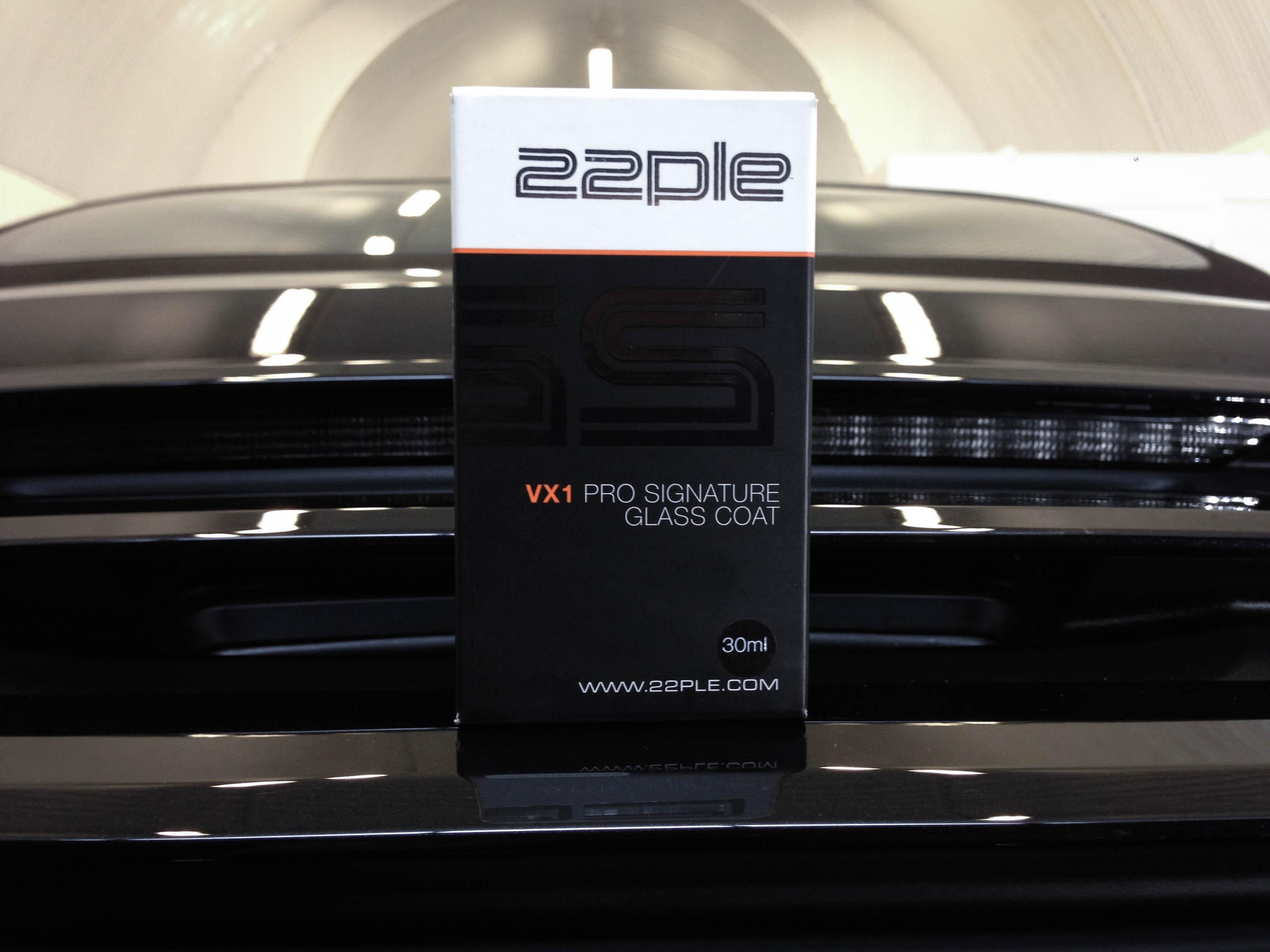 Porsche 911 4S – Finished with 22PLE VX1