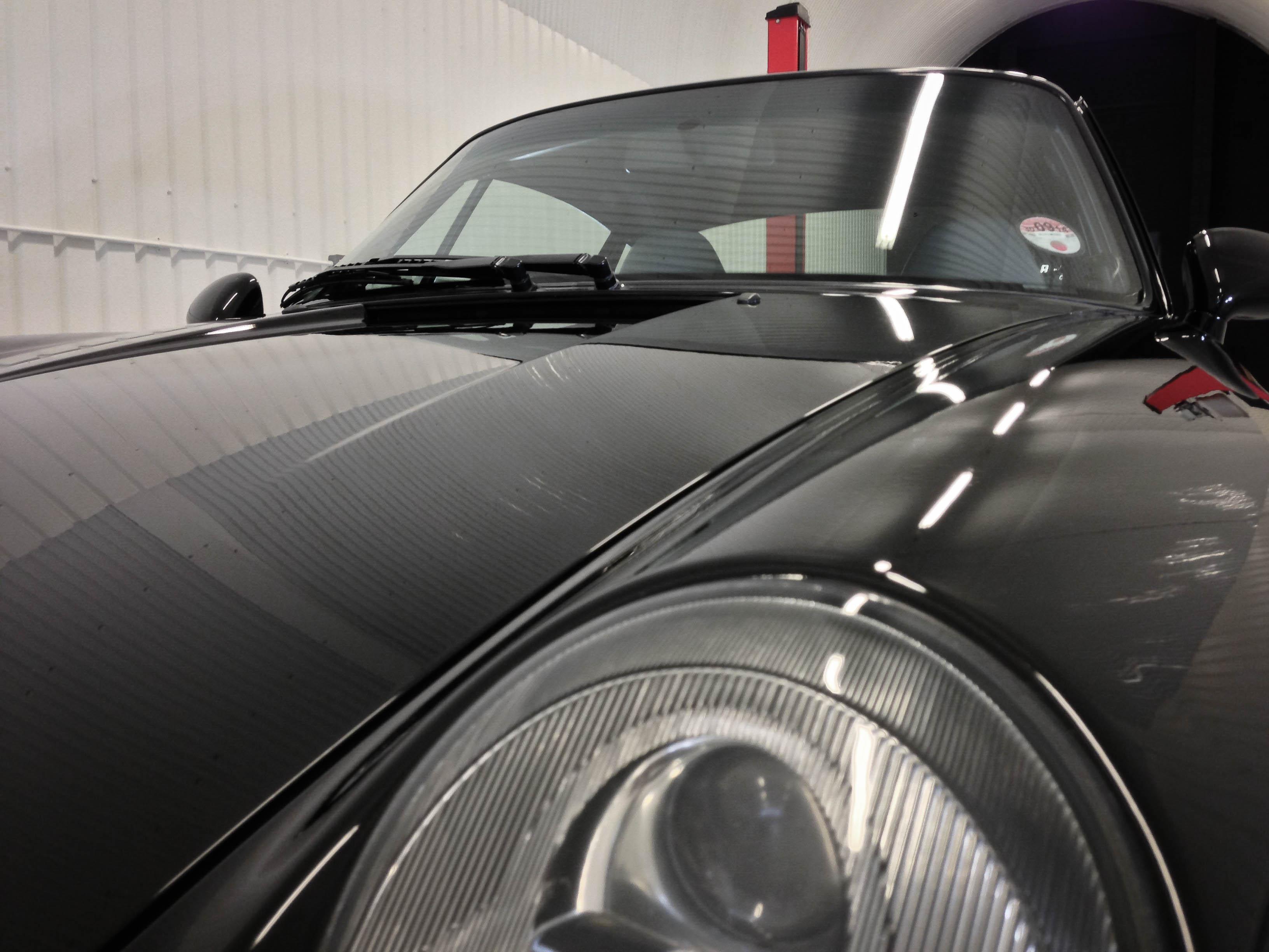 Porsche 911 Turbo – Close up