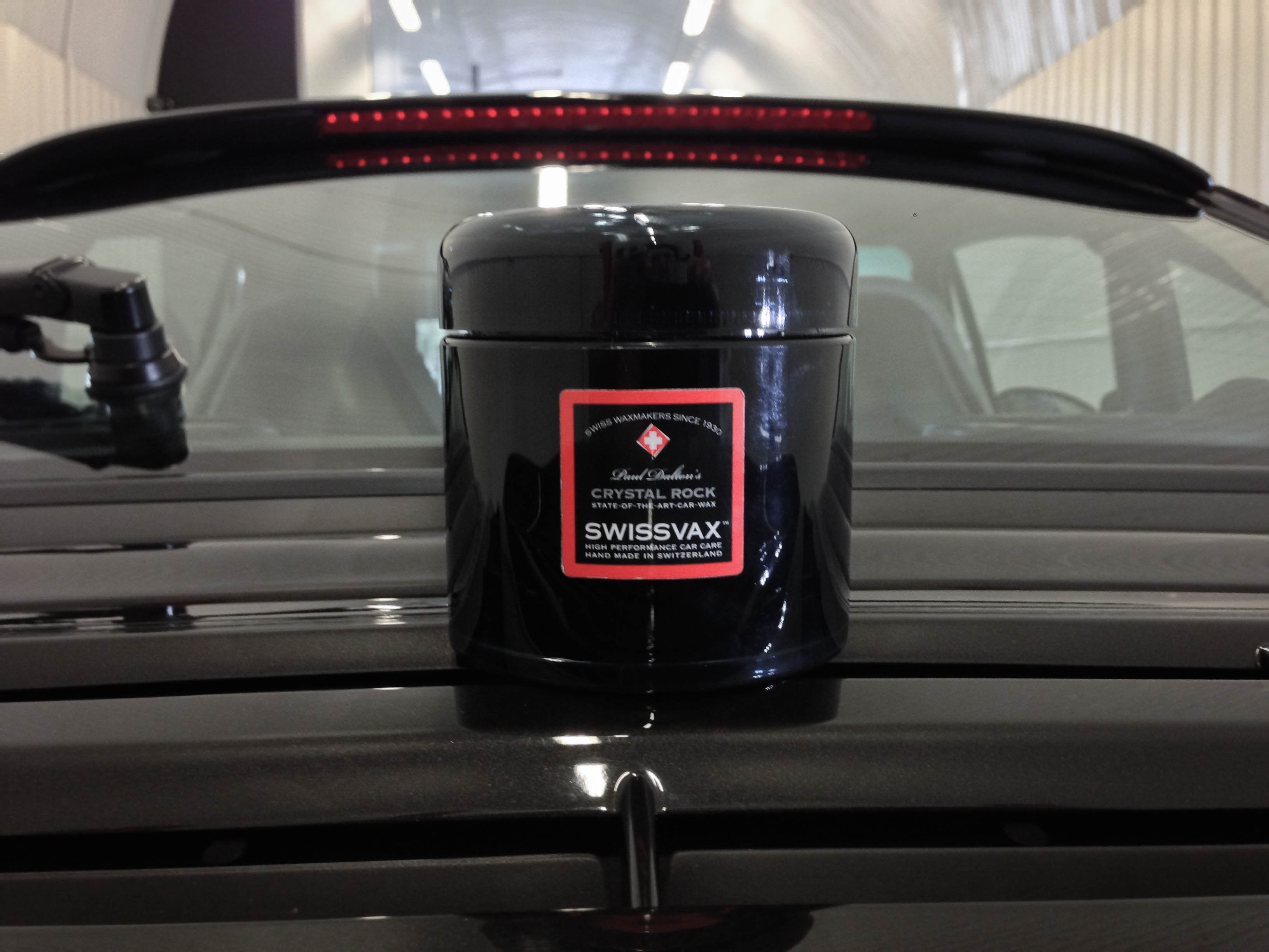 Porsche 911 Turbo –Finished with Swissvax Crystal Rock