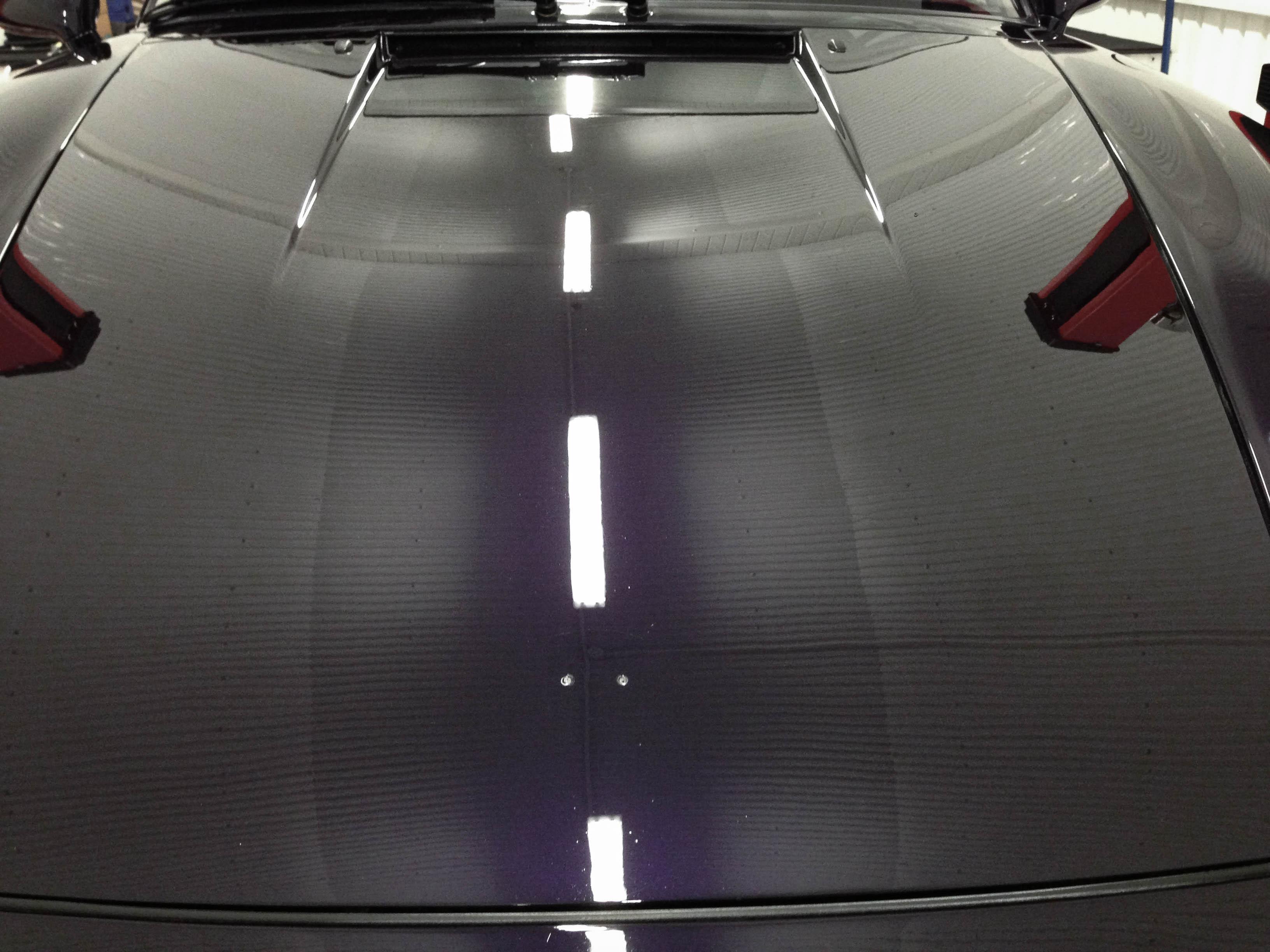 Porsche 993S –Bonnet