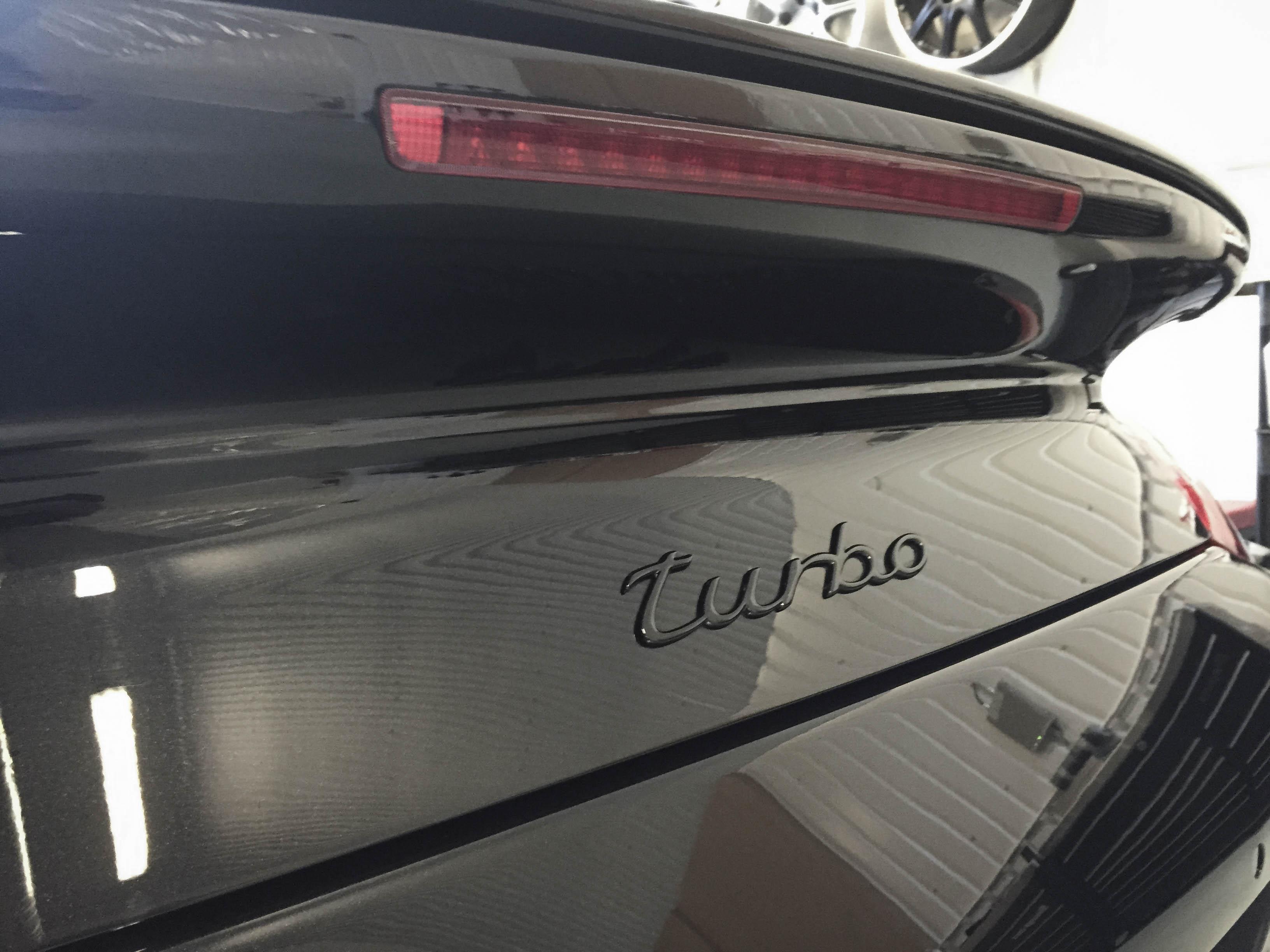 Porsche 996T – Name badge