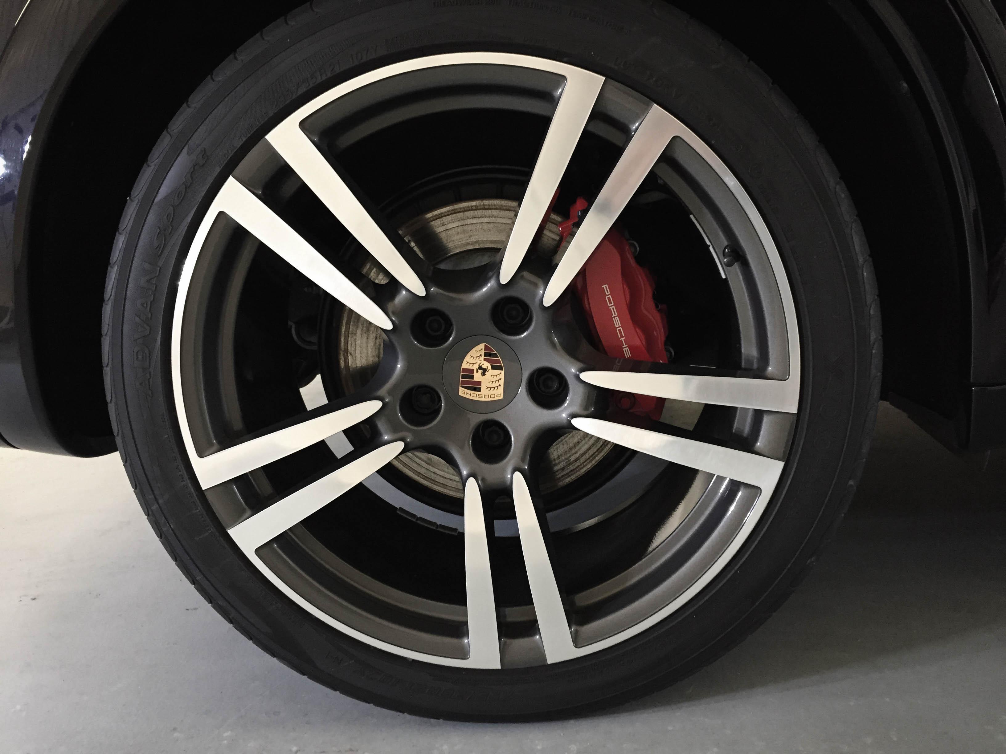 Porsche Cayenne GTS – Wheel detail