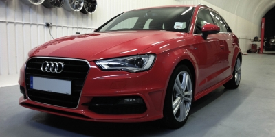 Audi A3 (Misano Red)