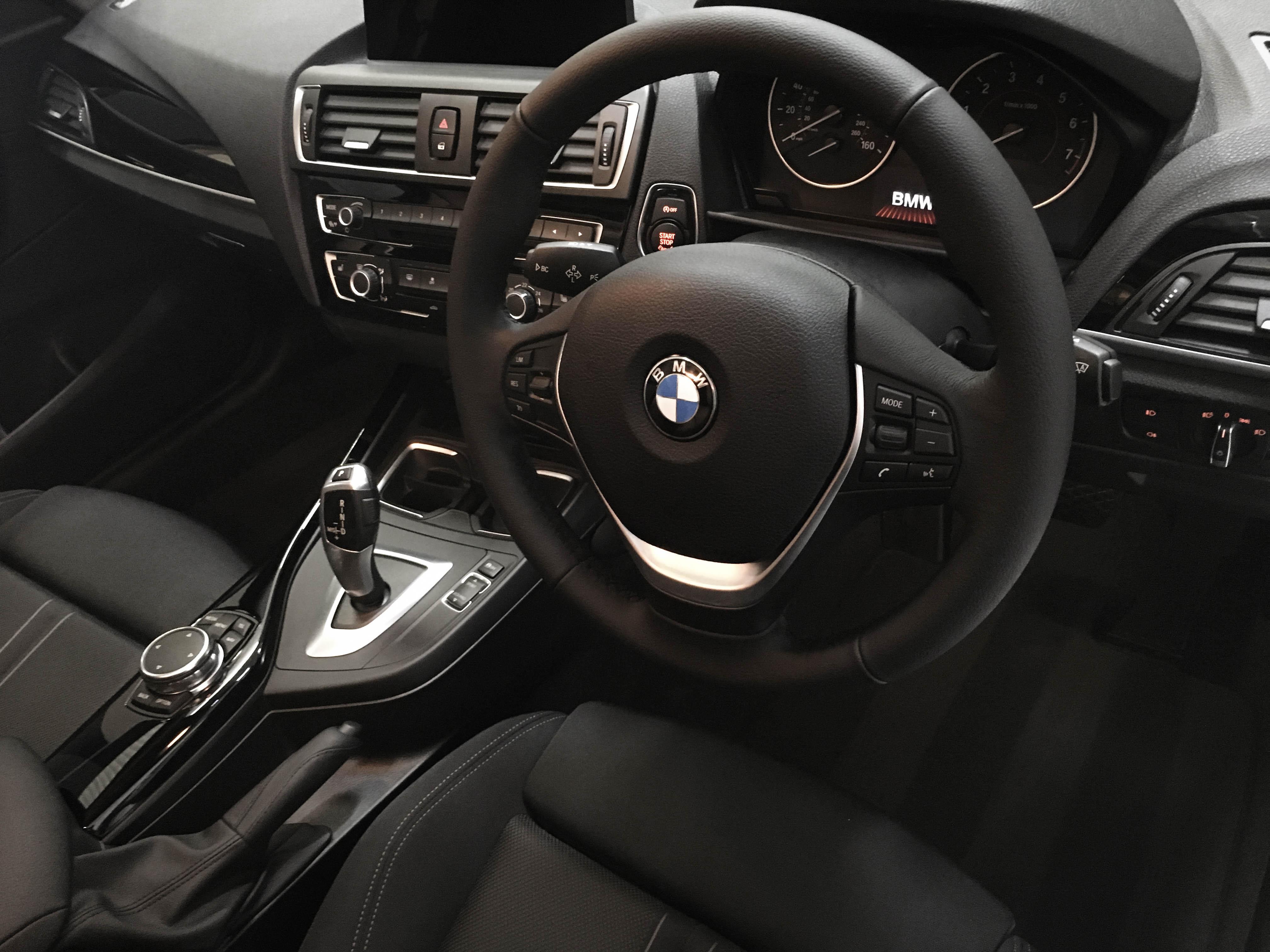 BMW 1series – Interior