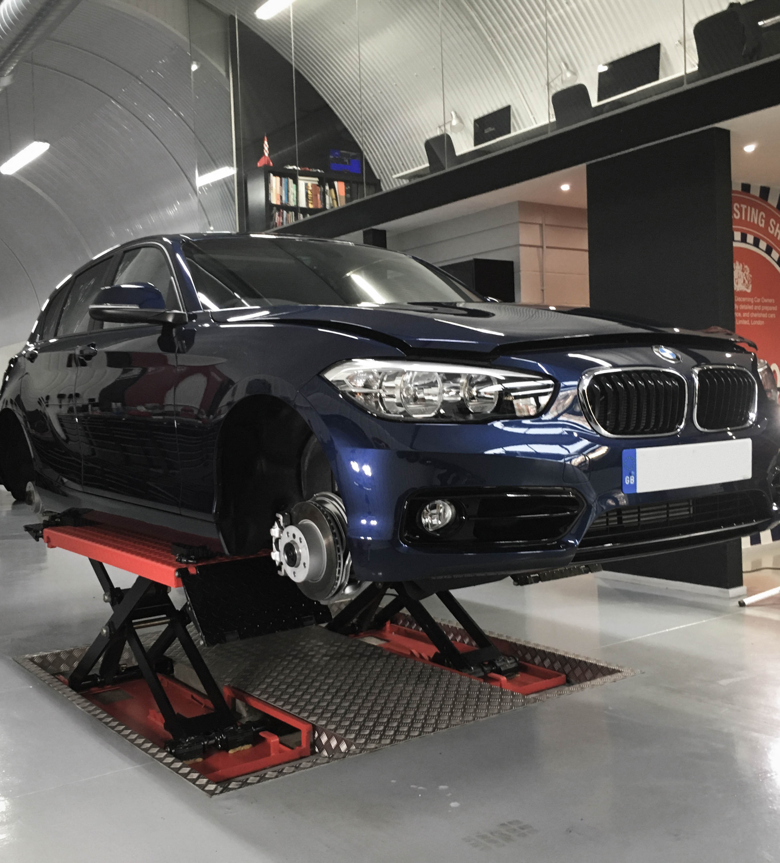 BMW 1series – Lifted
