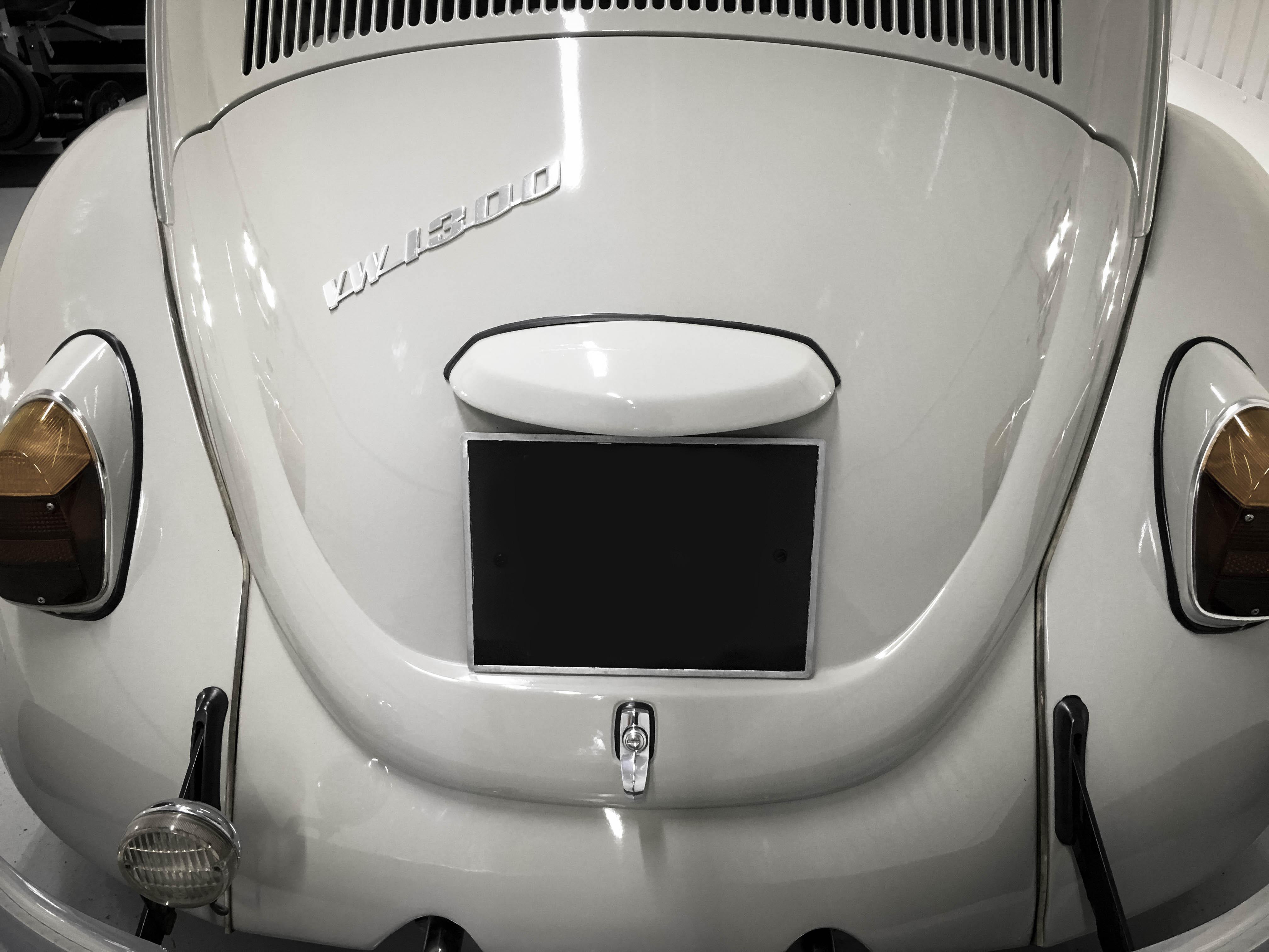 VW-Beetle-backnumberplate