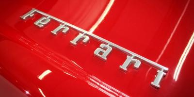Ferrari 550 Maranello - Ferrari name badge